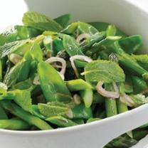 http://www.thenewpotato.com/2012/06/03/curtis-stones-minted-snow-peas-and-asparagus/