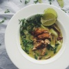 Thai Green Curry With Crispy Roast Chicken | Cooking With Bells On