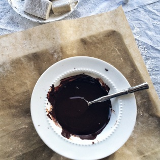 Melted Dark Chocolate | Cooking With Bells On