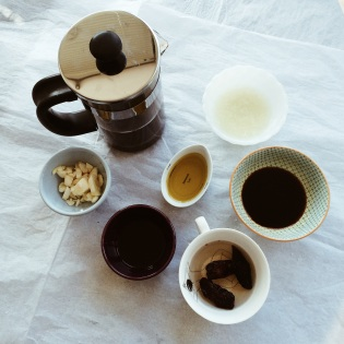 Ingredients for Coffee-Chipotle Braised Beef Shanks | Cooking With Bells On
