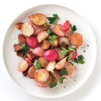 Sauteed Radishes with Bacon | Bon Appetit