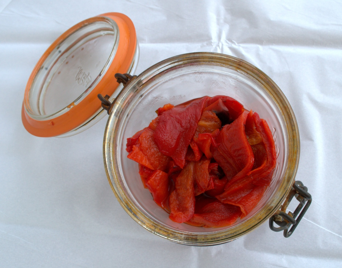 Roasted Red Peppers | Cooking With Bells On