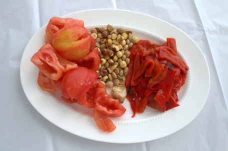 Tomatoes, Peppers, and Nuts | Cooking With Bells On