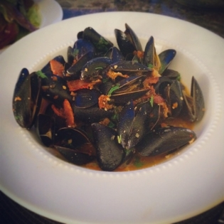 Moules Romesco | Cooking With Bells On